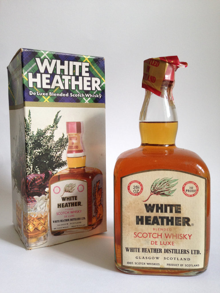 White Heather Blended Scotch Whisky - 1960s (40%, 75cl)