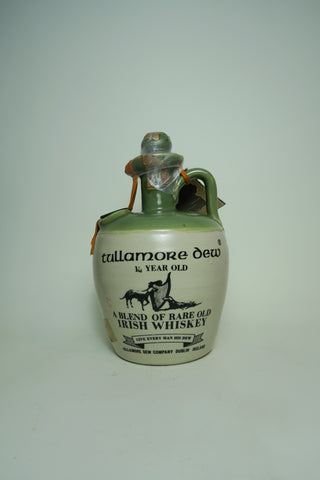 Tullamore Dew 10YO Irish Blended Whiskey - 1970s (40%, 75cl)