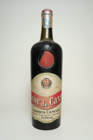 Ancora Licôr di Cassis - 1950s (ABV Not Stated,	75cl)