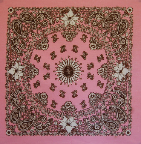 Flower Power US Paisley Bandana