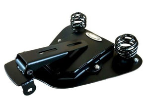 "04-06 Sportster Harley Seat Spring Mounting Kit Black 12x13x1"" Fits All Models - Mother Road Customs"