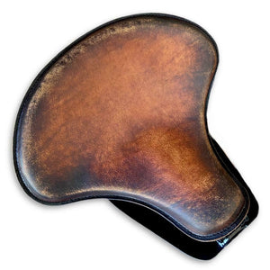 2015-2021 Indian Scout Bobber Tractor Seat Mounting Kit Brown On Brown Distressed Spring