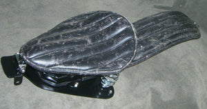07-09 Sportster Harley Nightster Iron Seat And P-Pad - Mother Road Customs