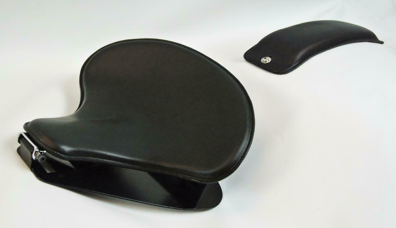 1998-2020 Yamaha V Star 650 Solo Seat Mounting Kit Spring P-Pad Black Tractor bc - Mother Road Customs