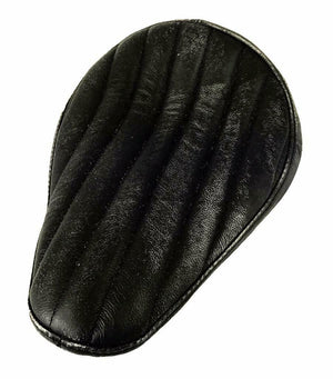 Spring Seat P-Pad Chopper Harley Sportster Bates Style 10x13 Blk Dist Tuck Roll