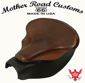 2014-2021 Indian Chief Custom Bomber Brown Leather Spring Seat Mounting  Kit bs