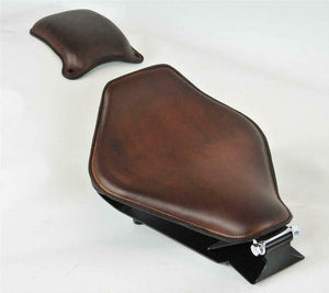 Spring Seat P-Pad 1985-2016 Honda Rebel 250 Mounting Bobber Kit Smooth Brown bc