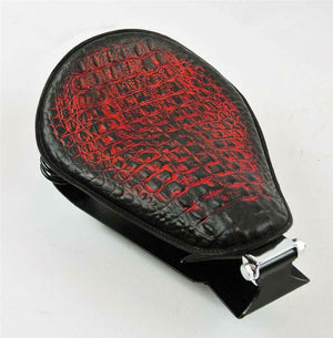 1985-2016 Honda Rebel 250 Spring Seat  Mounting Bobber Kit Ant Red Alligator bc - Mother Road Customs
