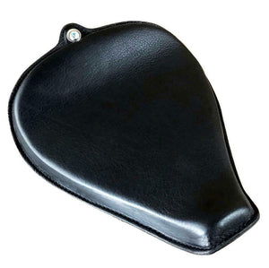 2004-2006 Harley Sportster Seat On The Frame Black  Leather  All Models - Mother Road Customs