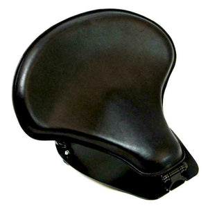 "2015-20 Indian Scout & Bobber Spring Tractor Seat 15x14"" Blk Mounting Kit Pad cs - Mother Road Customs"