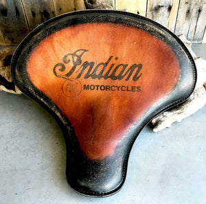 2015-2020 Indian Scout, Bobber Spring Tractor Seat 15x14 T Leather Mounting Kit - Mother Road Customs