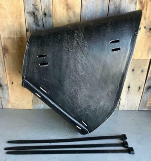 2000-2017 Harley Softail Spring Seat Pad Mounting Kit Saddle Bag BlkDis Leather - Mother Road Customs