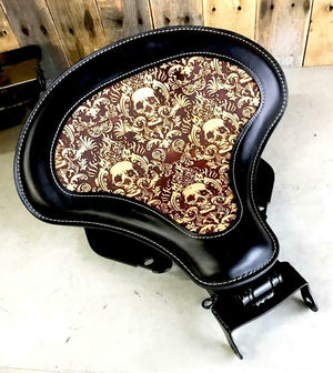 2018-2020 Harley Davidson Softal Spring Tractor Seat 15x14 Leather Mounting Kit - Mother Road Customs
