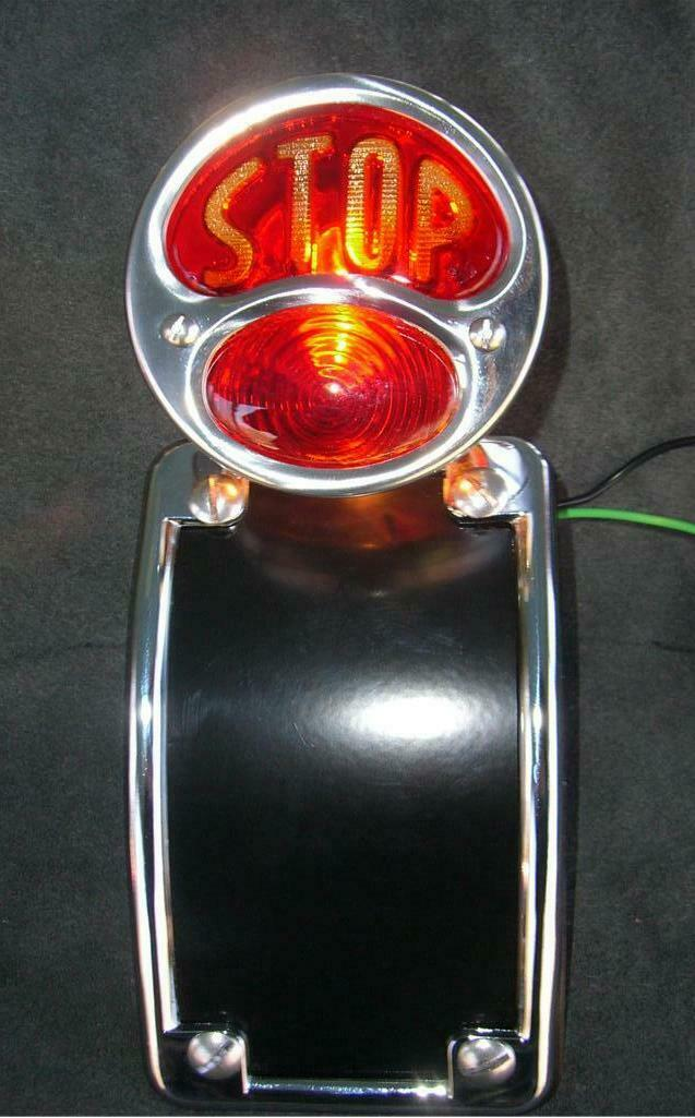Powder coat Radius Tail light Chopper Harley Seat Frame - Mother Road Customs