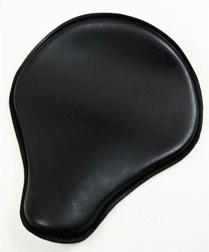 Seat Spring Solo Chopper Harley Sportster Nightster Bobber 12x13 Black Pleather - Mother Road Customs