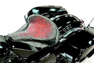 Harley Touring Spring Seat Mounting Kit All Models 1998-2020 Ant Red Alligator - Mother Road Customs