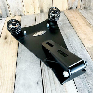 Spring Seat 1985-2016 Honda Rebel 250 P-Pad Mounting Black Dist Bobber Kit pcs - Mother Road Customs