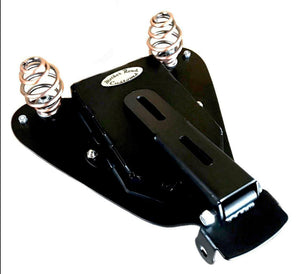 2007-2009 Sportster Harley Spring Seat Mounting Kit Davidson Tooled Blk Dist ccs - Mother Road Customs