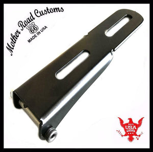 "Bolt On Spring Seat Mounting Hinge Hardware Harley Chopper Black 3"" Springs MRC - Mother Road Customs"