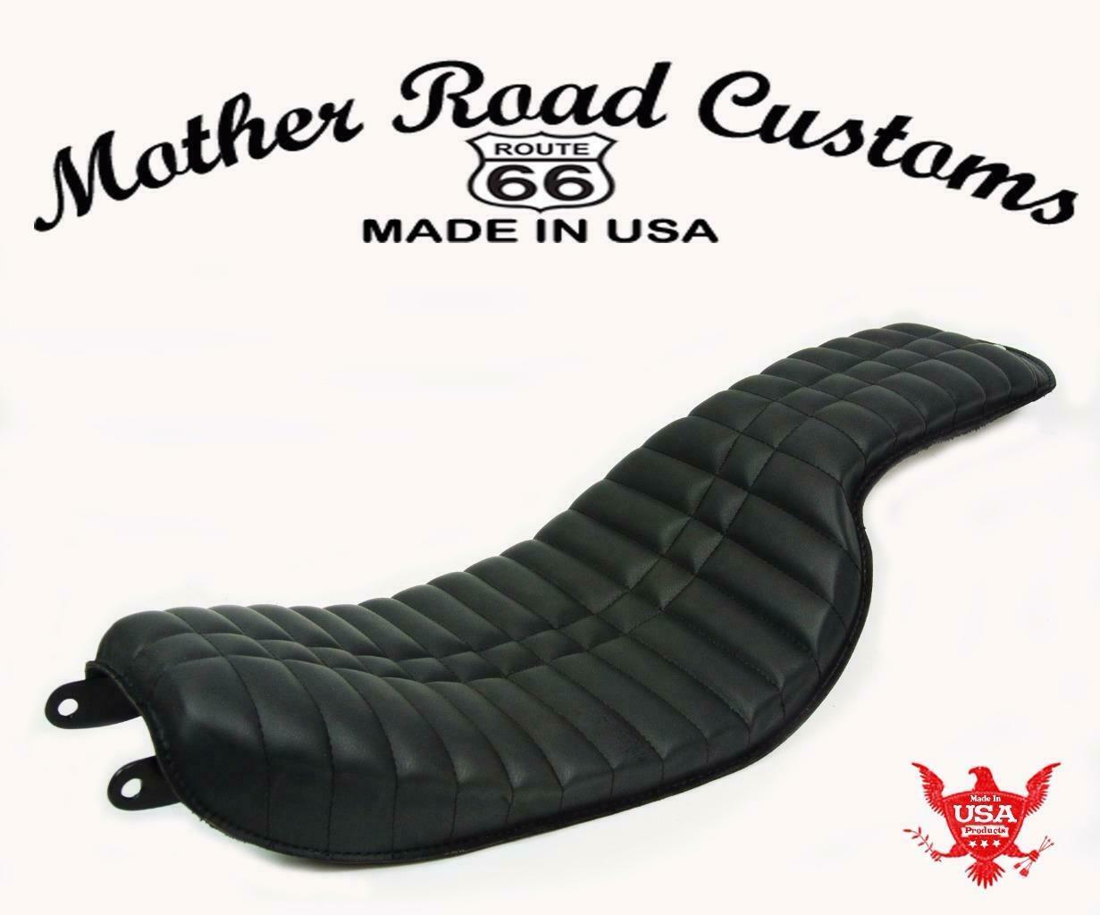 MRC 1996-2005 Harley Dyna On The Frame Seat Fits All Models Low Rider Super Wide - Mother Road Customs