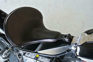 1996-2005 Harley Dyna Spring Solo Blk Leather Seat Mounting Installation Kit bcs - Mother Road Customs