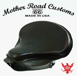 2015-20 Indian Scout & Bobber Spring Seat Mounting Conversion Kit Blk Tractor cs - Mother Road Customs