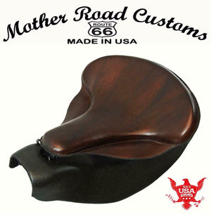 2014-2020 Indian Chief Spring Soft Brown Leather Seat Mounting Conversion Kit bs