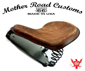 2015-20 Indian Scout & Bobber Spring Seat Mounting Conversion Kit Brn D Leather - Mother Road Customs