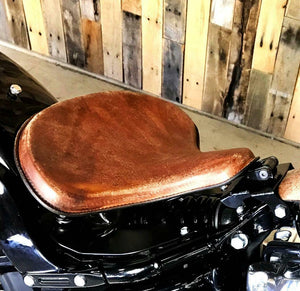 2018-2020 Harley Davidson Softal Spring Tractor Seat 15x14 Leather Mounting Kit