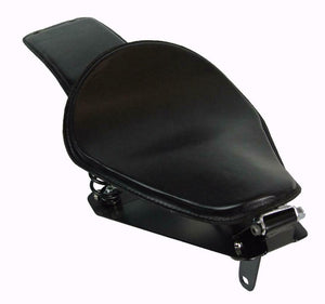 Spring Seat  2014-2020 Yamaha Bolt Black Pleather Passenger P Mounting Kit bcs - Mother Road Customs