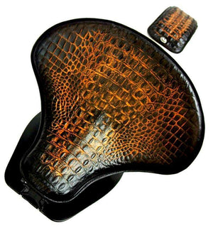 2015-20 Indian Scout & Bobber Spring Tractor Seat G Leather Mounting Kit Pad cs - Mother Road Customs