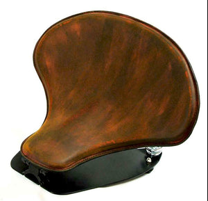 2015-20 Indian Scout & Bobber Spring Tractor Seat 201Brn Leather Mounting Kit cs - Mother Road Customs