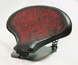 2015-20 Indian Scout & Bobber Spring Tractor Seat Ant Red Tooled Mounting Kit - Mother Road Customs