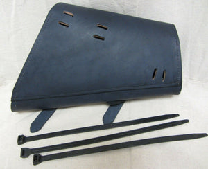 Sportster Saddle Bag Harley 1982-2020 Black Leather Made In USA! Chopper MRC - Mother Road Customs