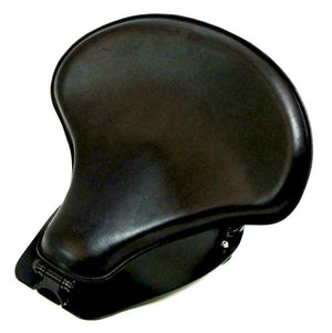 "2015-20 Indian Scout & Bobber Spring Tractor Seat 15x14"" Blk Dis Mounting Kit cs - Mother Road Customs"