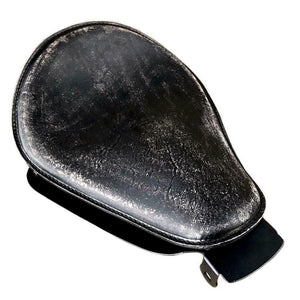 2004-2006 Sportster Harley Sring Seat  Mounitng Kit P-Pad Black Distres  Leather
