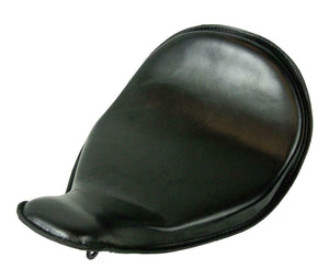 2010-2020 Harley Sportster High Back On The Frame Black Leather Solo Seat - Mother Road Customs