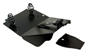Harley Touring Spring Seat Conversion Mounting Kit 1998-2020 Ant Brn Alligator Window - Mother Road Customs