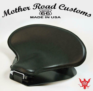 1998-2020 Yamaha V Star 650 Spring Solo Seat P-Pad Mounting Kit Black Tractor bc - Mother Road Customs