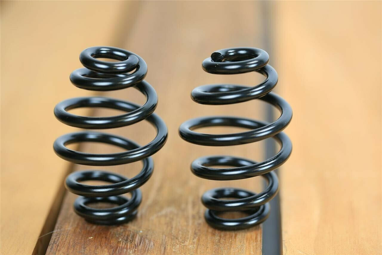 "Black Powder Coated 3"" coil motorcycle seat springs chopper harley sportster USA - Mother Road Customs"
