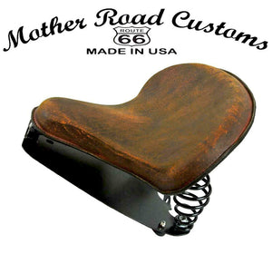 2015-2020 Indian Scout & Bobber Spring Tractor Seat 201 Brn Dist Mounting Kit bs - Mother Road Customs