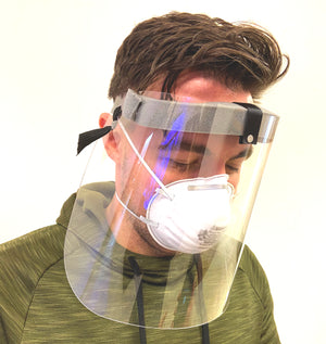 Full Face Mask Shield Clear Safety Face Shield Eyes Covering Protector Tool