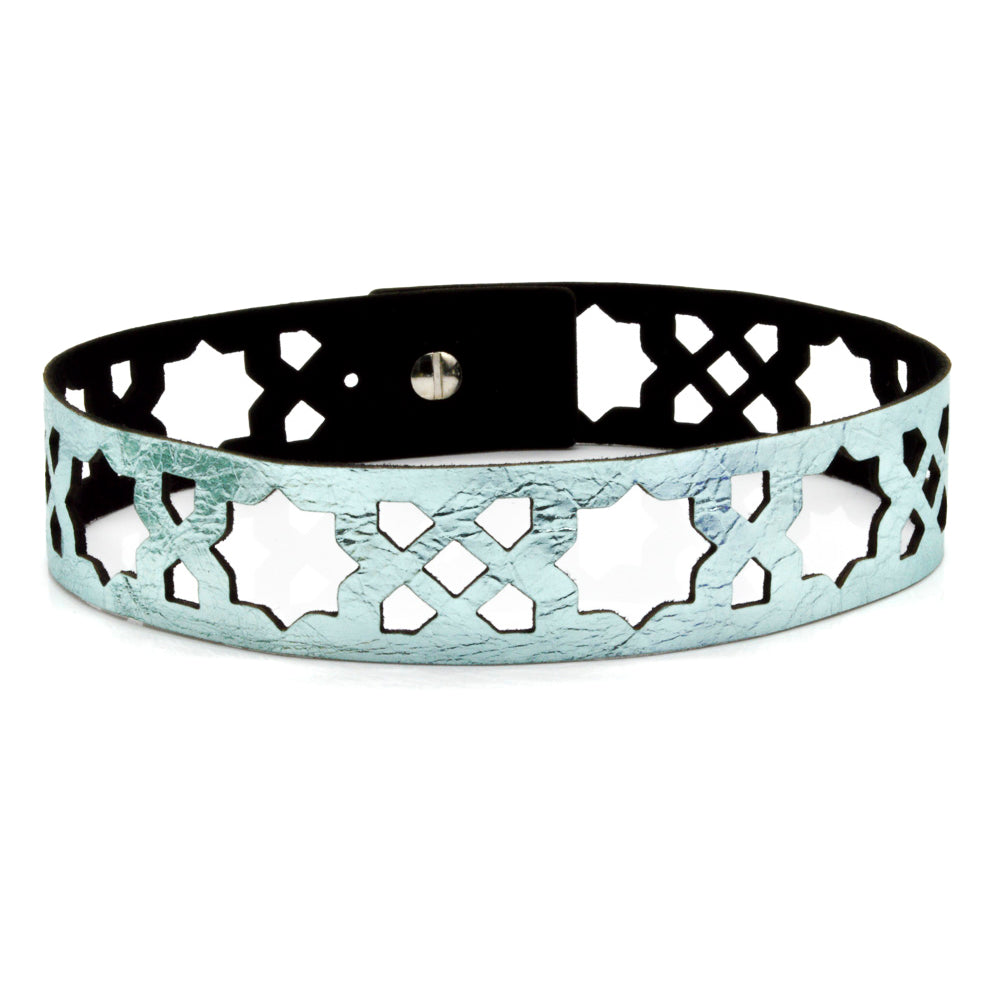Azulejo Leather Choker
