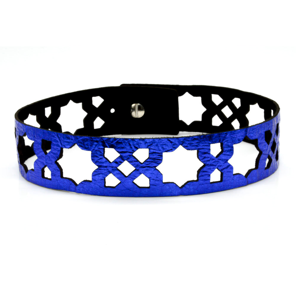 Azulejo Leather Chokers