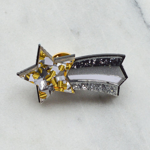 Star Rainbow Brooch/ Pin