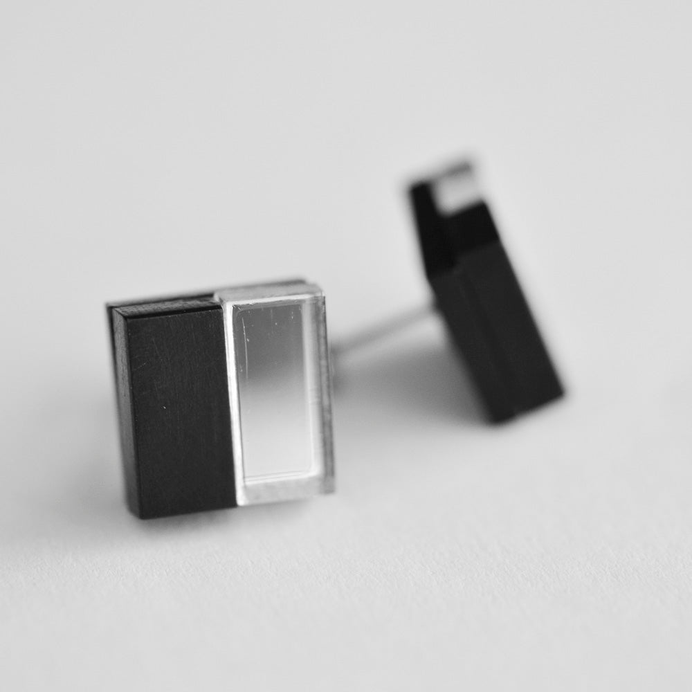 Geometric Stud Earrings *REDUCED/ SLIGHT SECONDS*