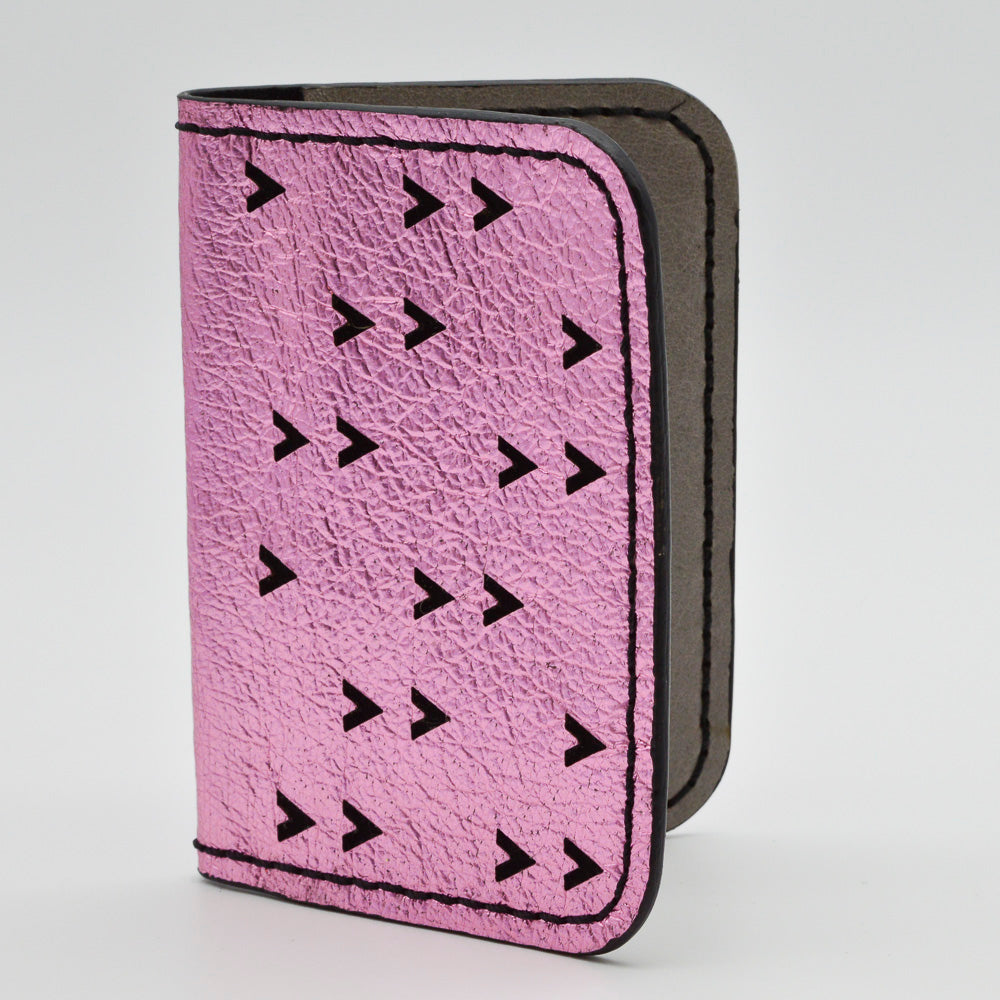 Laser Cut Chevrons Folding Wallets