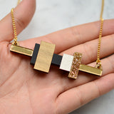Mini Blocks Necklaces
