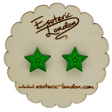 Little Mirror Stars Stud Earrings