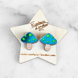 Toadstool Stud Earrings